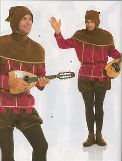 Burda Men's Minstrel Costume 2498