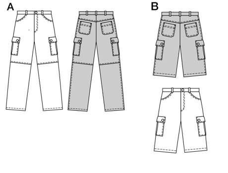 Burda Trousers/pants 2713