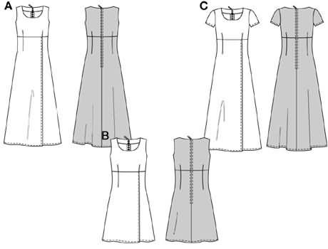 Burda Dress 2933