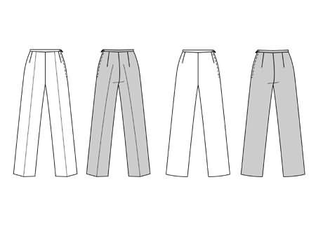 Burda Trousers/pants 2938