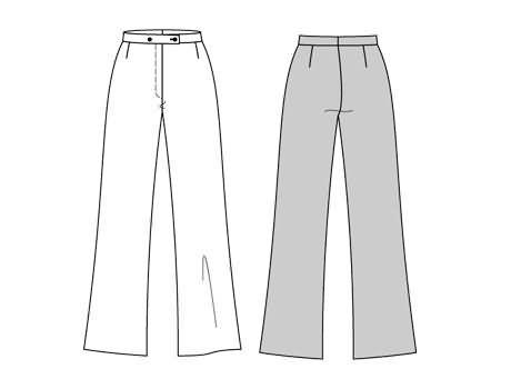 Burda Trousers/pants 3114