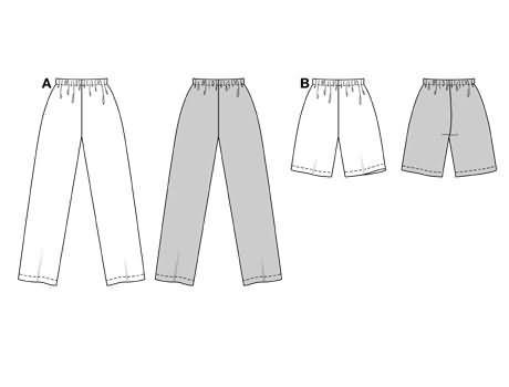 Burda Trousers/pants 3216