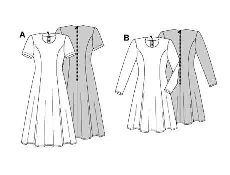 Burda Dress 3274
