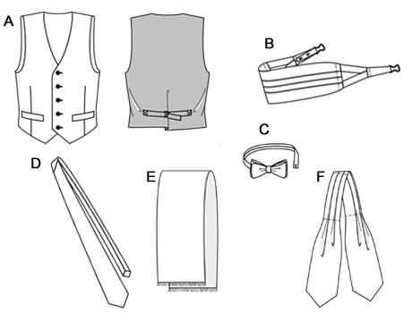 Burda Waistcoat/vest and accessories 3403