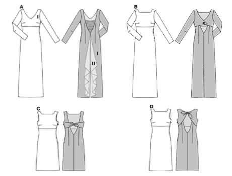 Burda Dress 8256