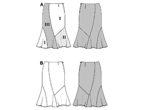 Burda Skirt 8269