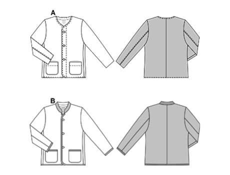 Burda Janker - German/Alpine folkstyle jackets 8273