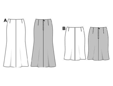 Burda Skirt 8280