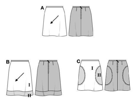 Burda Skirts 8281