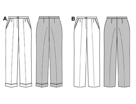 Burda Trousers/pants 8283