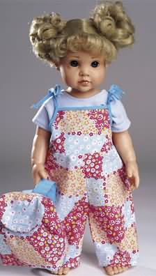 Burda Doll's clothes set 8308