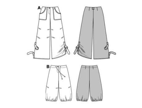 Burda Trousers/pants 8316