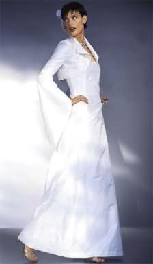 Burda Wedding dress 8320