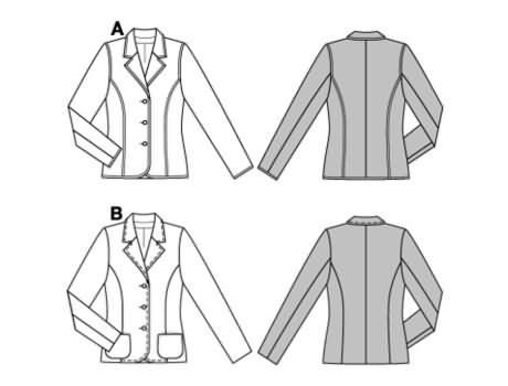 Burda Jacket 8339