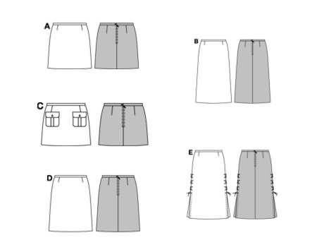 Burda Skirt 8344