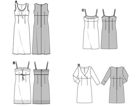 Burda Dress 8348