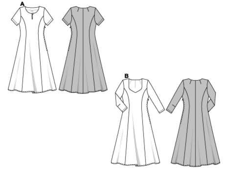 Burda Dress 8351