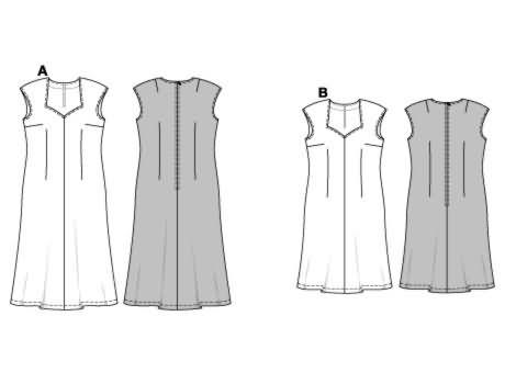 Burda Dress 8379