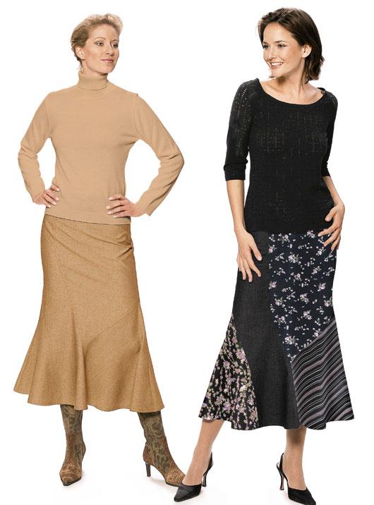 Burda Skirt 8407