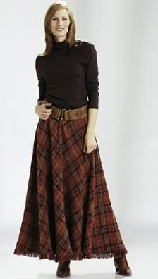 Burda Skirt 8427