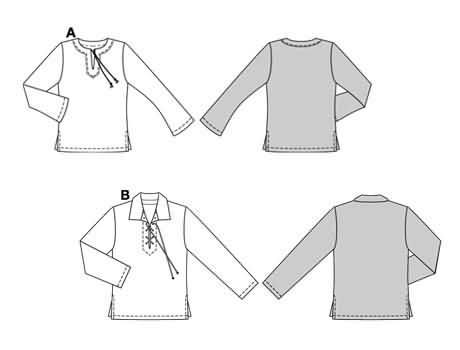 Burda Shirt 8461