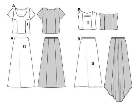 Burda Evening dress 8467
