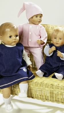 Burda Doll's clothes 8591