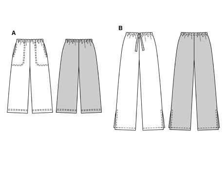 Burda Trousers/pants 8607
