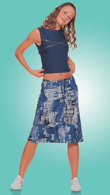 Burda Skirt 8611