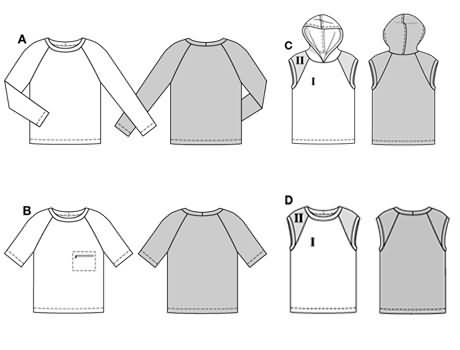 Burda Shirt 8827