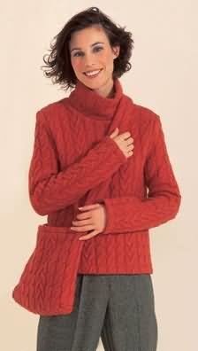 Burda Pullover, jacket and bag 8881