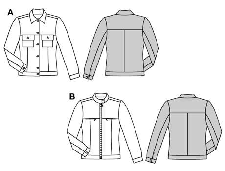 Burda Jacket 8905
