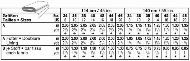 Burda Skirt 8973