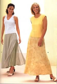 Burda Misses Skirt 8974