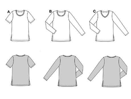 Burda Shirt 8998