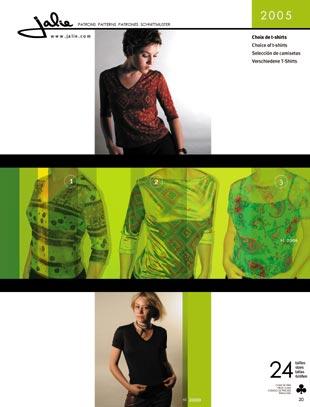 Jalie Choice of T-shirts 2005