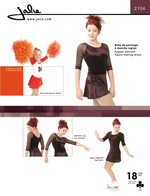 Jalie Skating Dress 2104