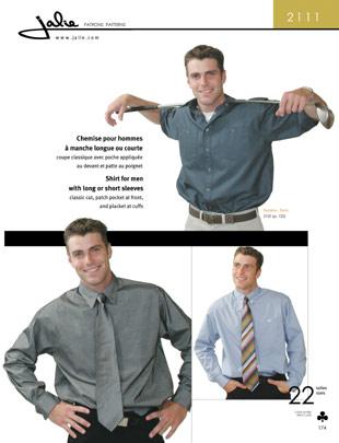 Jalie Men and Boys Dress Shirts 2111