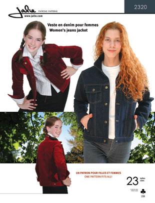 Jalie Women's Jeans Jacket 2320