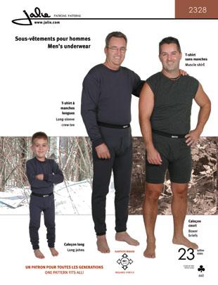 Jalie Men's underwear 2328