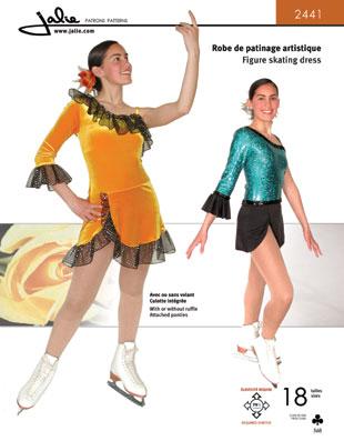 Jalie Figure skating dress 2441