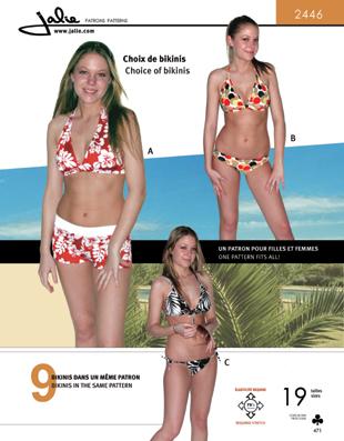 Jalie Choice of bikinis 2446