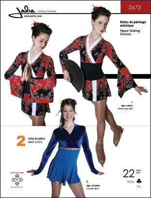 Jalie Skating dresses 2673