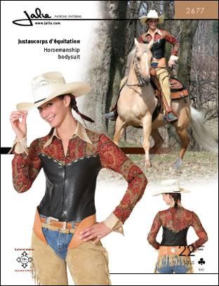 Jalie Horsemanship bodysuit 2677
