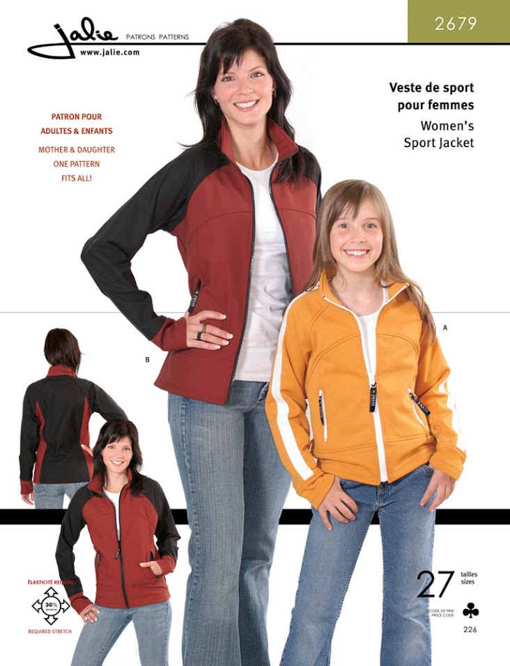 Jalie Sport Jackets for Women 2679