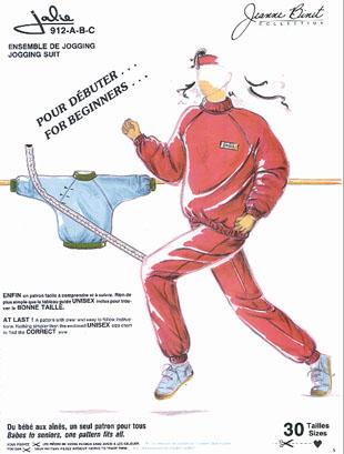 Jalie Jogging suit 912