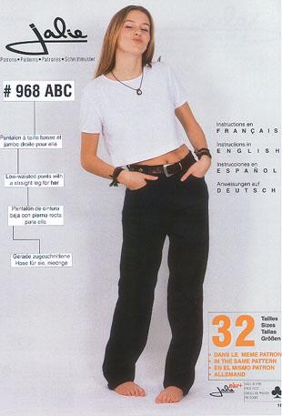Jalie Jeans, Low-waist 968