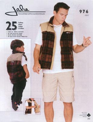 Jalie Lined vest 976