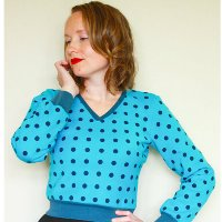 Jennifer Lauren Enid Sweater Digital Pattern