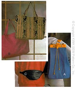 Kwik Sew Crafts Bags 2036